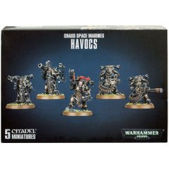 CHAOS SPACE MARINES HAVOCS (Разорители, 5 миниатюр)