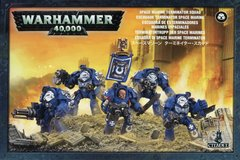 SPACE MARINE TERMINATOR CLOSE Combat Squad (Армии Империума, Терминаторы Космодесанта, 5 миниатюр)