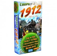 Настольная игра Билет на поезд: Европа 1912 (Ticket to Ride: Europe 1912)