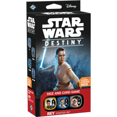 Настольная игра Star Wars Destiny: Rey. Starter Set