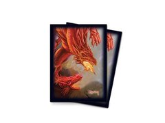 Протекторы 66x91 (MTG) Dragon 50 шт (Card Sleeves Dragon 66х91)