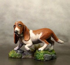 Миниатюра Visions In Fantasy: Molly - Basset Hound (2)