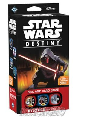 Настольная игра Star Wars Destiny: Kylo Ren. Starter Set