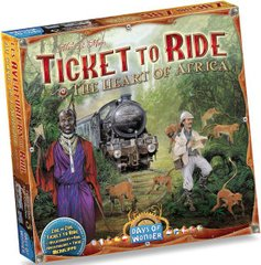 Настольная игра Ticket to Ride Map Collection: Volume 3 – The Heart of Africa (Билет на поезд: Африка)