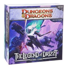 Dungeons & Dragons. Legend of Drizzt Board Game (Подземелья и Драконы: Легенды Дриззта)